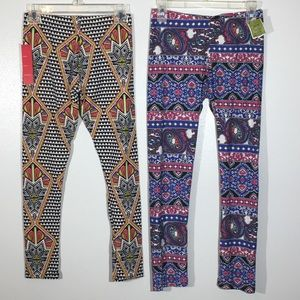 Other - Set of soft Stretchy Leggings - Size L